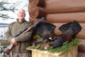 The Capercaillie and Black-cock hunting in Leningrad region