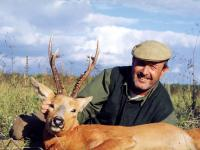 The Siberian Roe Deer hunting in Kurgan region