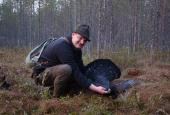 The Capercaillie and Black-cock hunting in Vologda region