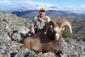 The Yakut Snow Sheep hunting in Magadan region