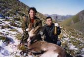 The Yakut Snow Sheep hunting in Yakutia