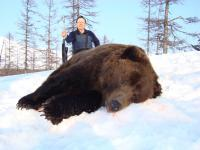 The Kamchatka Brown Bear hunting in Magadan region