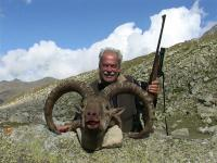 The East Caucasian Tur hunting North Ossetia