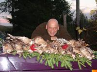 The Woodcock hunting with dogs in North-West Russia